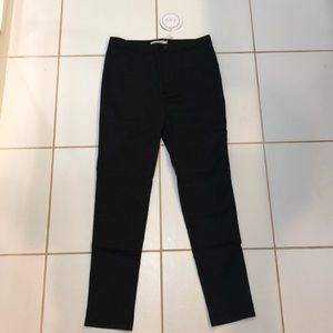 Princess Polly high waisted black pants